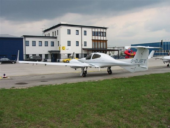 Diamond DA42 Twin Star on The Apron