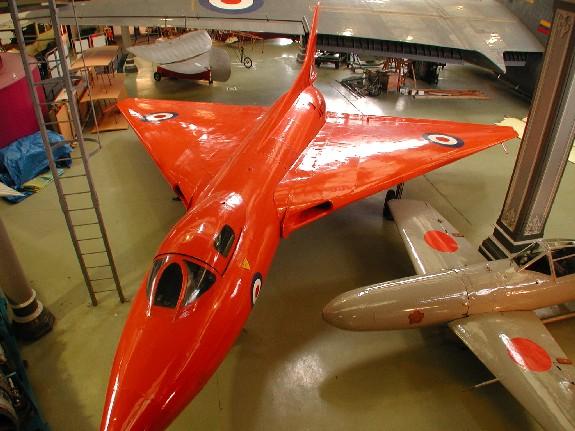 Avro 707 - Vulcan scale prototype