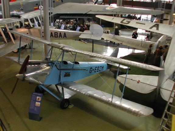 Avro Avian 594 IIIA - G-EBZM
