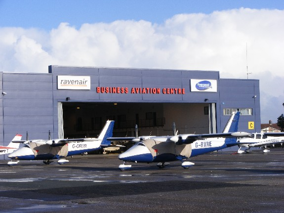 Ravenair's Business Aviation Centre