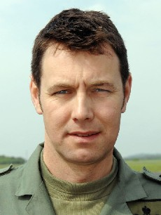 Lieutenant Commander Scott of 705 Squadron.
