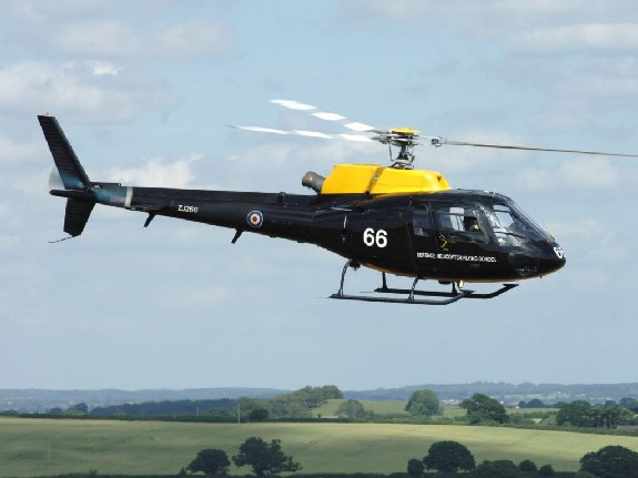 DHFS Squirrel Helicopter
