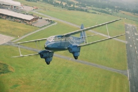 de Havilland Dragon Rapide G-AGTM