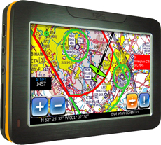 Aware airspace warning GPS