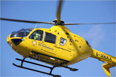 North West Air Ambulance EC 135 T2 Helicopter