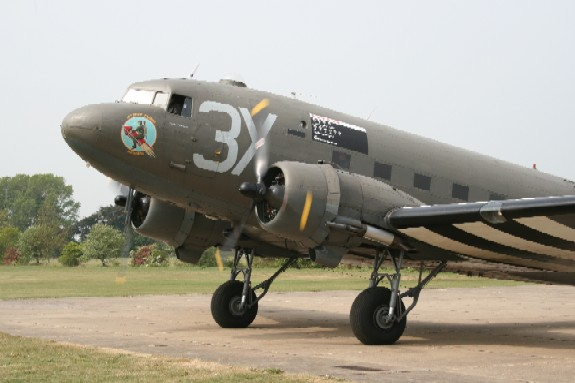 Dakota at Lincs Aviation Heritage Centre