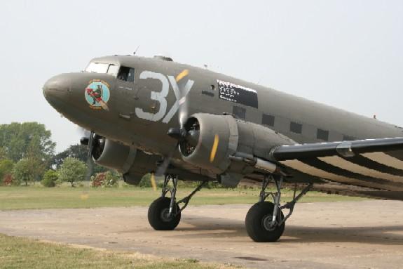 Dakota at Lincs Aviation Heritage Centre