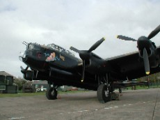 Lancaster NX611 'Just Jane' at Lincs Aviation Heritage Centre