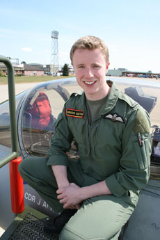 Flying Officer Gregor Ogston