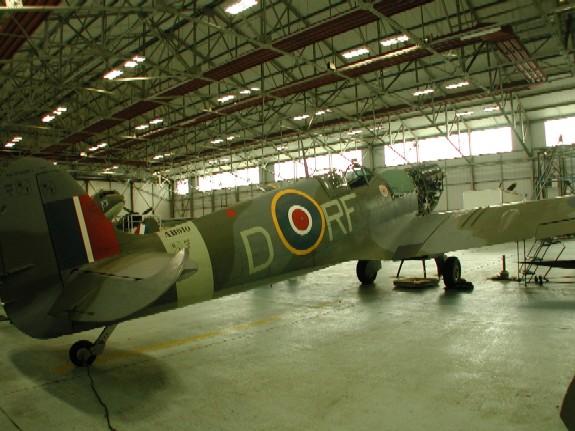 BBMF Spitfire-AB910-MkVb