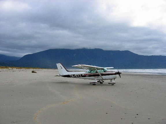 Big Bay beach landing