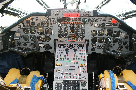 Cockpit of Victor XL231