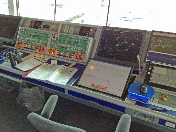 ATCO position in the tower