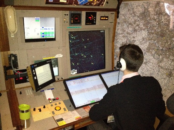 Radar Controller at Manchester Airport