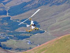 Cumbria Gyroplanes - over the Lake District