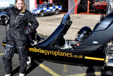 Student at Cumbria Gyroplanes