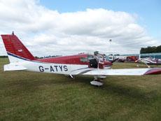 G-ATYS, PA28