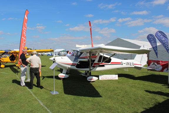 C42 Ikarus glider tug